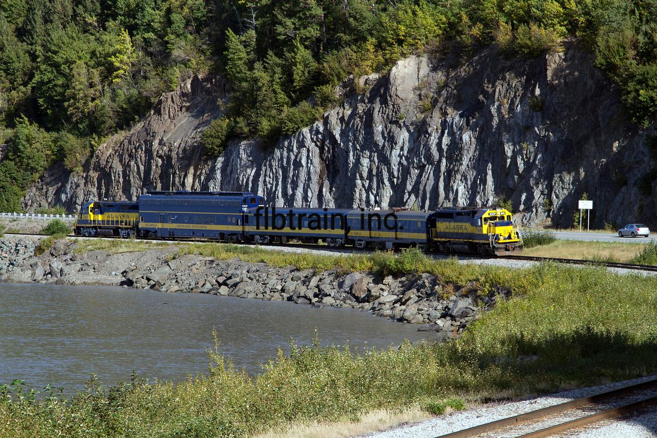 ARR2015090120 - Alaska Railroad, Bulga Point, AK, 9/2015