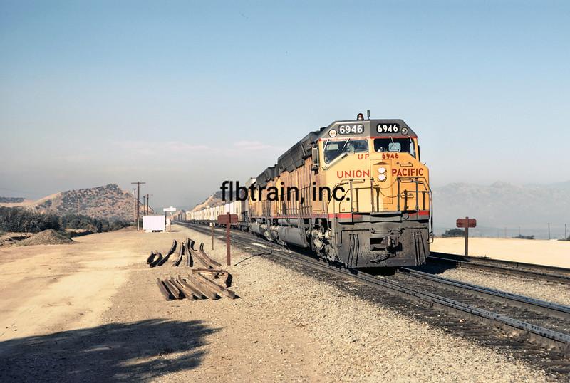 UP1973060010 -  Union Pacific, Cajon Pass, CA, 6/1973