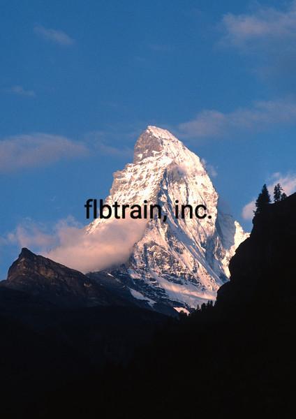 SW1984080220 -  Matterhorn, Zermat, Switzerland, 8/1984