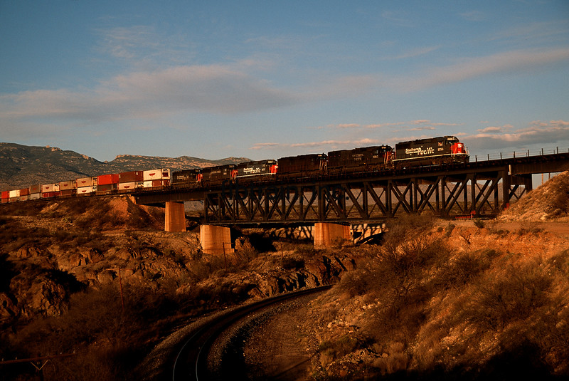 SP1994030022 -  Southern Pacific, Mountain View, AZ, 3/1994