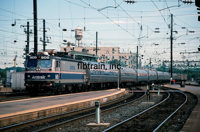 AM1999090030 - Amtrak, Washington DC, 9/1999