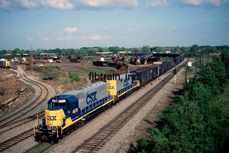 CSX1992040048 - CSX, Waycross, GA, 4/1992