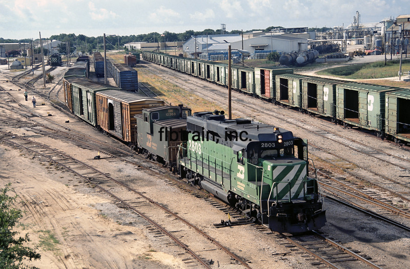 BN1990070005 - Burlington Northern, Pensacola, FL, 7/1990