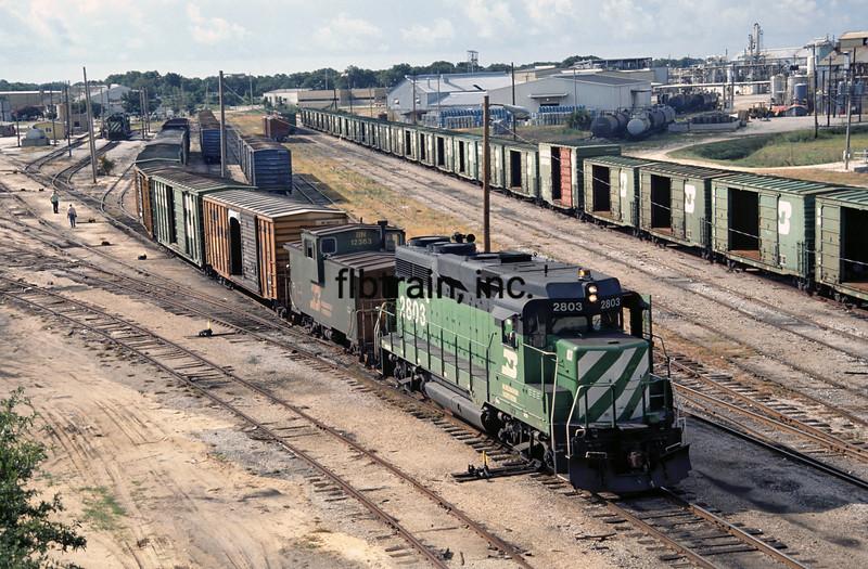 BN1990070005 - Burlington Northern, Pensacola, FL, 7/1990