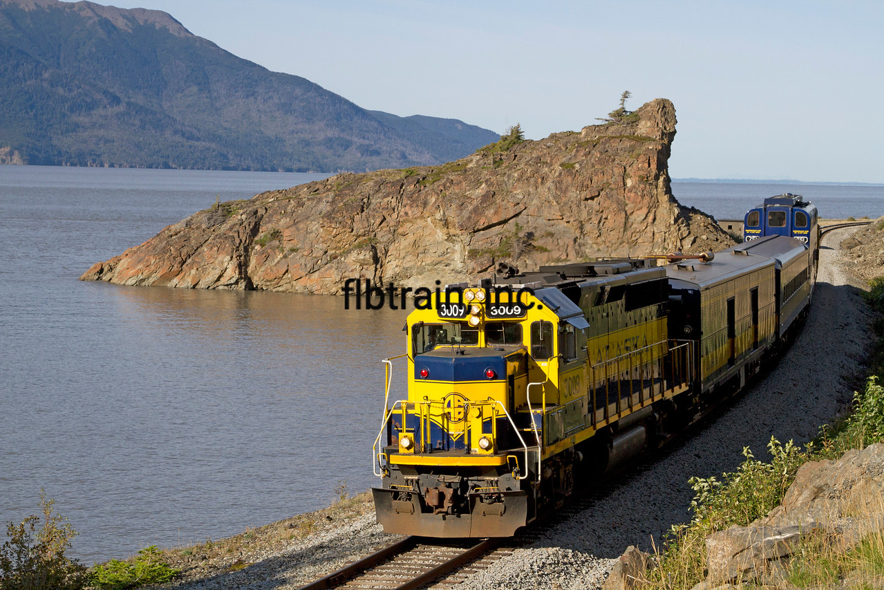 ARR2015090156 - Alaska Railroad, Bulga Point, AK, 9/2015