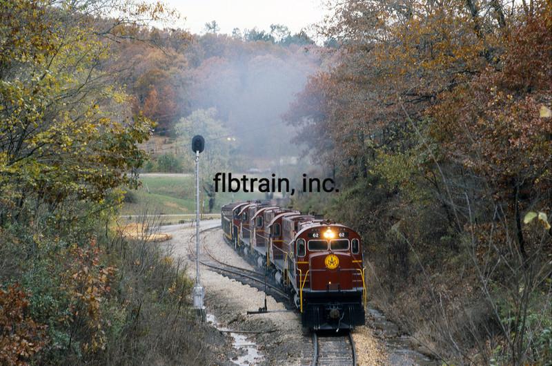 AMO1991100122 - Arkansas & Missouri, Winslow Tunnel, AR, 10/1991