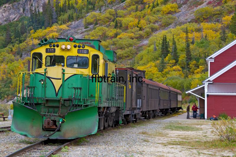 WPY2015090585 - White Pass & Yukon, Bennett, BC, 9/2015