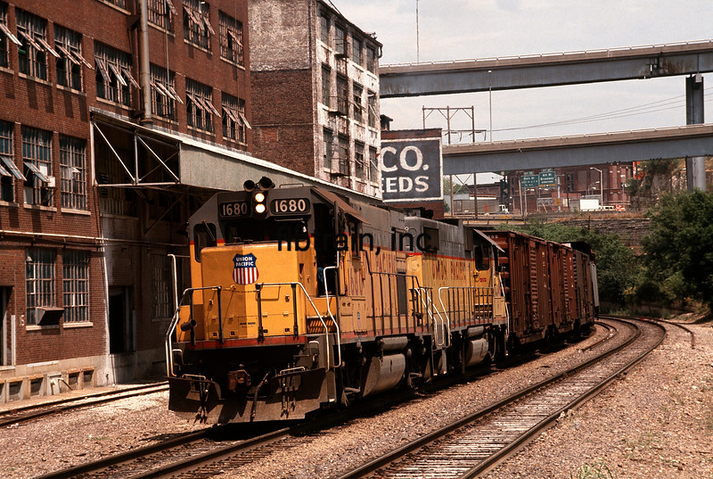 UP1991080006 - Union Pacific, Kansas City, MO, 8/1991