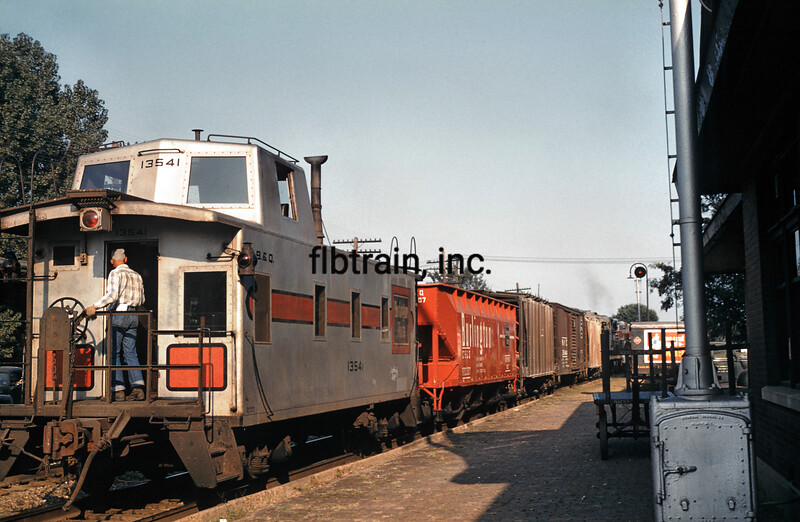 CBQ1960080012 - Burlington Route, Mount Pleasant, IA, 8/1960