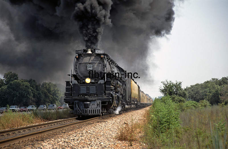UP1992080964 - Union Pacific, Gause, TX, 8/1992