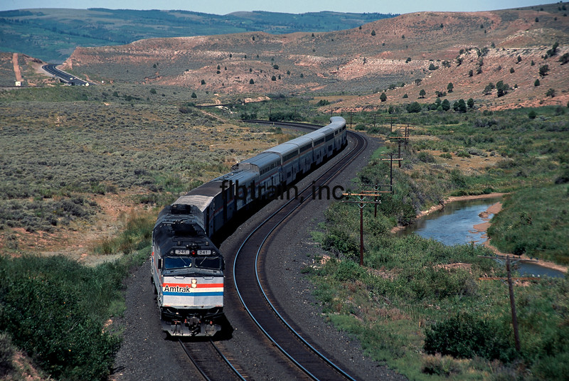 AM1992070011 - Amtrak, Utah, 7/1992.