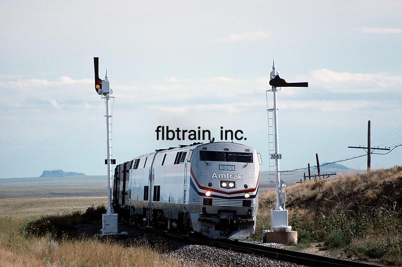 AM1994080026 - Amtrak, Springer, NM, 8/1994