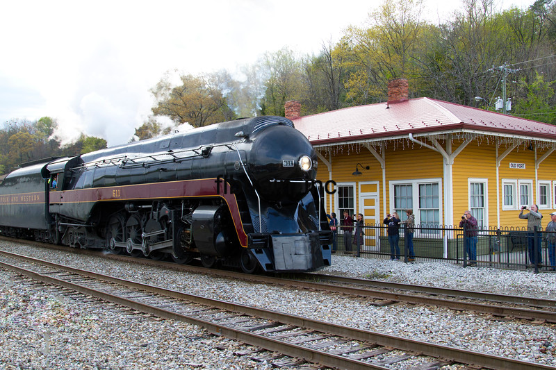 NW2016040392 - Norfolk & Western, Old Fort, NC, 4/2016