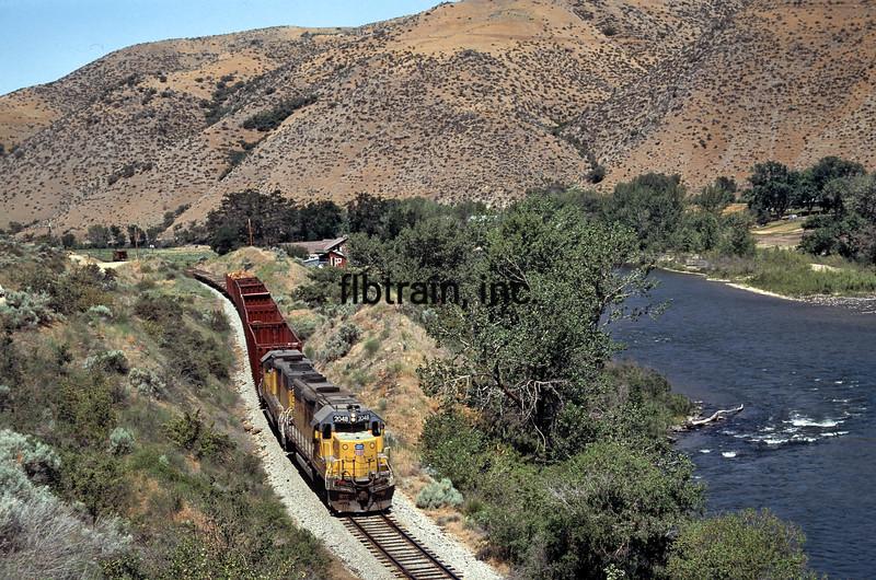 UP1992060083 - Union Pacific, Montour, ID, 6/1992