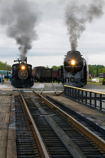 NW2016040791 - Norfolk & Western 611, Spencer Shops, NC, 4/2016