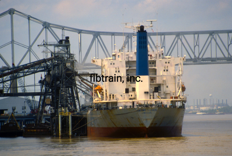 SHIP1989060042 - Port of Baton, Port Allen, LA, 6-1989