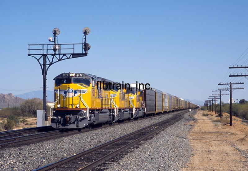 UP2003040020 - Union Pacific, Picacho, AZ, 2/2003