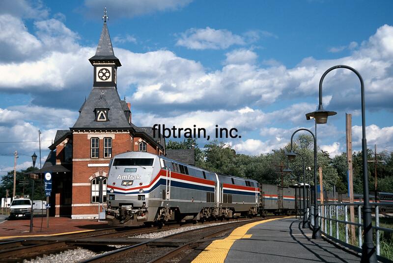 AM1998090005 - Amtrak, Point of Rocks, MD, 9/1998
