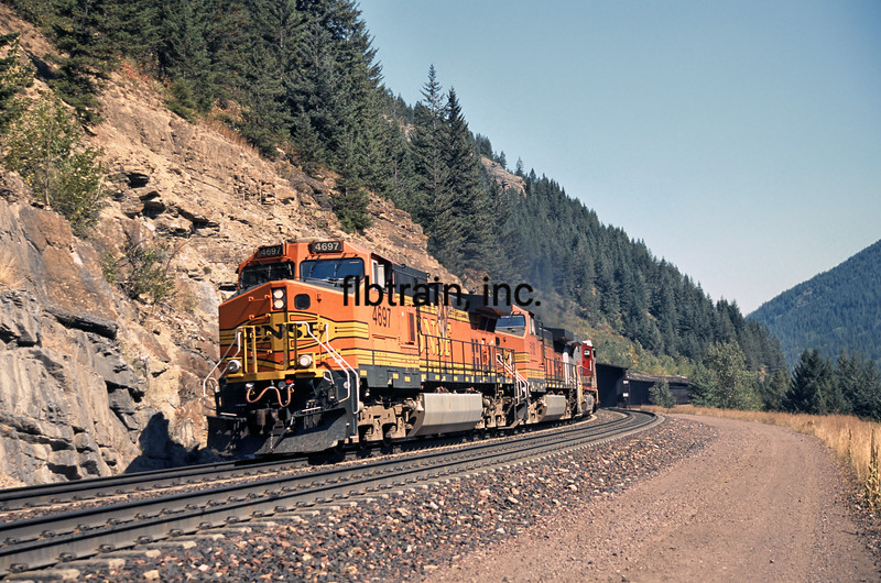 BNSF2007090189 -  BNSF, Snow Shed #7, MT, 9/2007