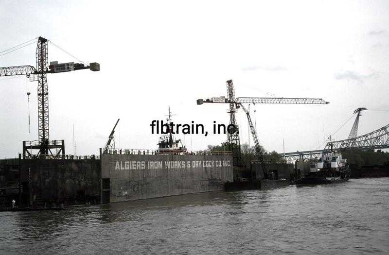 SHIP1990030063 - Dry Dock, New Orleans, LA, 3-1990