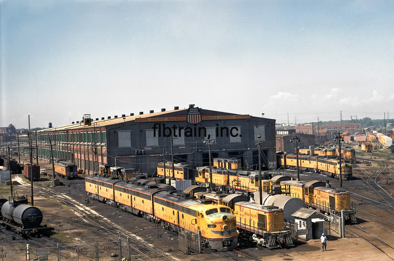 UP1969080001 -  Union Pacific, Omaha, NE,  8/1969