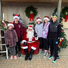 Santa with the Sperry family of Westford