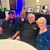 From left, Lance Barnes of Clearwater, Fla., 50 Legs founder Steve Chamberland of Florida, his uncle Paul Chamberland of Litchfield, N.H., and Claire Greeley of Lowell
