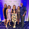 From left, 50 Legs CEO Tiffany Willis of Florida, board co-Chair Carmen Acabbo of Westford, guest speakers Samantha Eddington of Kentucky and her daughter Katie, a 50 Legs recipient, board co-Chair Karen Roderick of Tyngsboro, and 50 Legs founder Steve Chamberland of Florida.