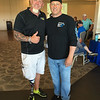 50 Legs founder Steve Chamberland of Tampa, Fla., and Scott Coles of Methuen