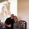 50 Legs Founder Steve Chamberland of Tampa, Fla., with Fundraising Director Tiffiny Willis of Lithia, Fla.