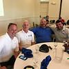 From left, Scott Sirois of Dracut, Joe Conlon of Pelham, Bill Catenacci of Hudson and Charlie Medeiros of Lowell
