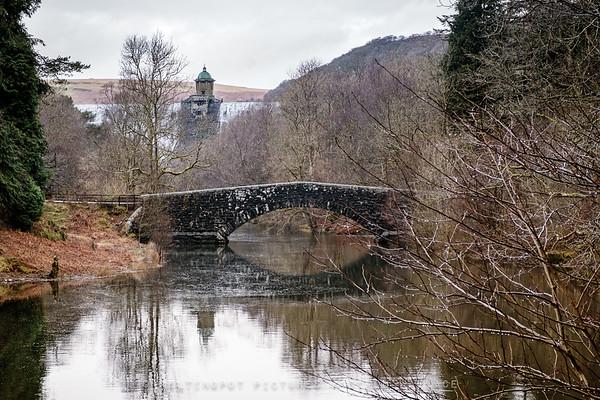 Bridge by Pen y Garreg