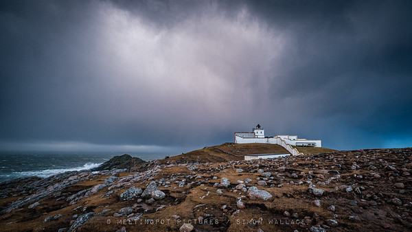 Storm over Strathy Point