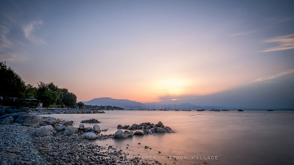Sunrise over Monte Bondone