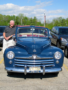 50-year reunion class member Bob Lubbers '64 came in the same car he drove to his 1964 graduation!