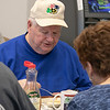 The 50/50 Diner in Fitchburg has just turned 20 years old and the owners sat down to talk about it on Thursday, Jan. 23, 2020. Dan Cunningham enjoys some food at the diner on Thursday. SENTINEL & ENTERPRISE/JOHN LOVE