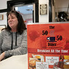 The 50/50 Diner in Fitchburg has just turned 20 years old and the owner ssat down to talk about it on Thursday, Jan. 23, 2020. Reesi Cordio, wife of owner David Cordio, talks about the history of the diner. SENTINEL & ENTERPRISE/JOHN LOVE