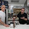 The 50/50 Diner in Fitchburg has just turned 20 years old and the owners sat down to talk about it on Thursday, Jan. 23, 2020. Owners Michael Cataldo, left, and David Cordio talk about the past 20 years in business. SENTINEL & ENTERPRISE/JOHN LOVE