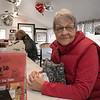 The 50/50 Diner in Fitchburg has just turned 20 years old and the owners sat down to talk about it on Thursday, Jan. 23, 2020. Customer Wonda Mansfield comes to the diner almost every day to enjoy the company and the good food. SENTINEL & ENTERPRISE/JOHN LOVE