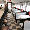 The 50/50 Diner in Fitchburg has just turned 20 years old and the owners sat down to talk about it on Thursday, Jan. 23, 2020. A view of the inside of the diner. SENTINEL & ENTERPRISE/JOHN LOVE