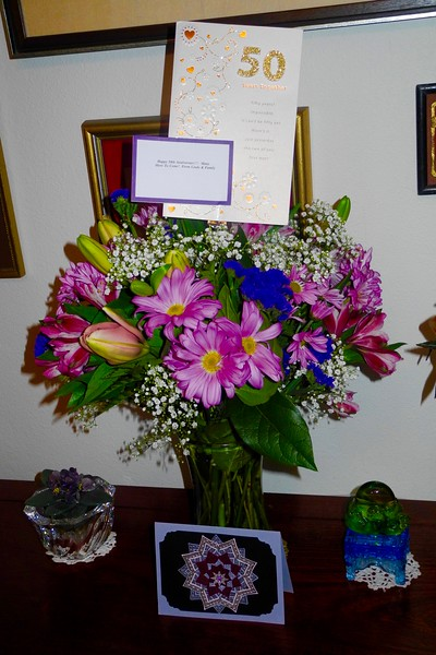 Gorgeous Flowers from Linda & CK.
