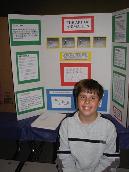 Science Fair, Landell Elementary, Thursday Evening, March 1, 2007  (Paul's Animation Exhibit) - 21