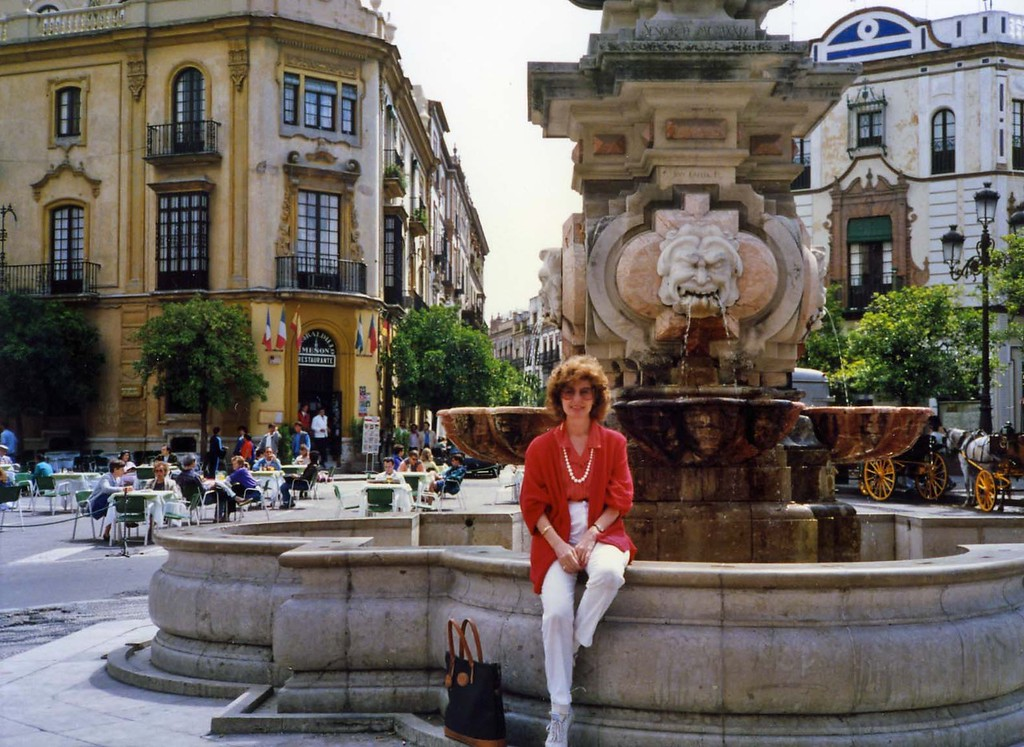 Touring Seville, trip to Spain with Jurgen and Leticia
