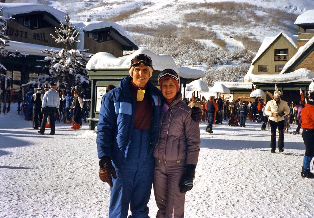 Sking in Park City Utah with Lisa and Tommy while staying at Prospector's Square 1992-1003