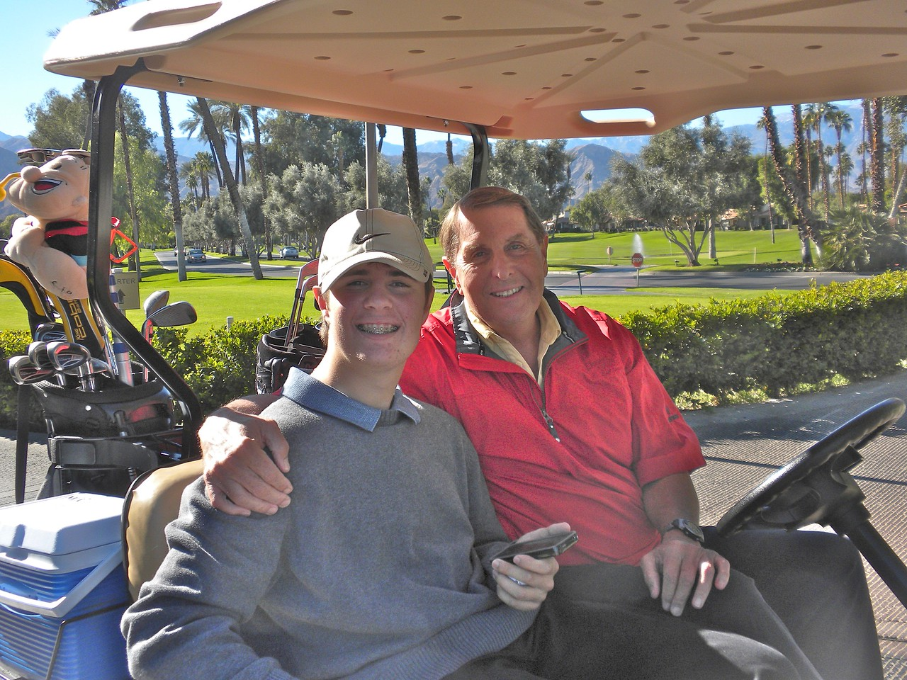 Finishing up Golf at the Monterey Country Club with Paul
