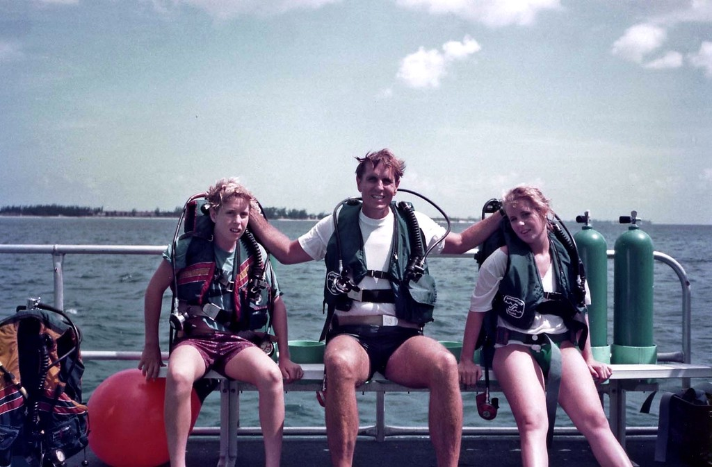 Scuba in the Cayman Islands with the family