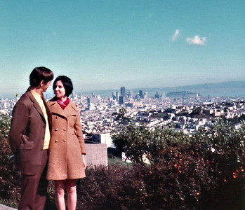 Overlooking San Francisco
