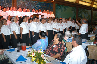 The PCC alumni choir