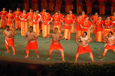 PCC 40th anniversary alumni night show, Samoan section