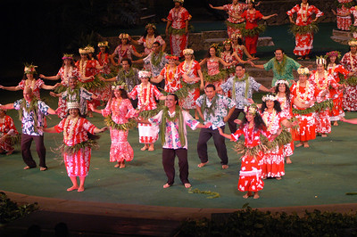 PCC 40th anniversary alumni night show, Tahitian section